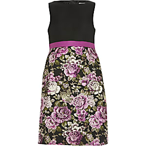 Chi Chi - Zwarte Sabreen-jurk voor meisjes