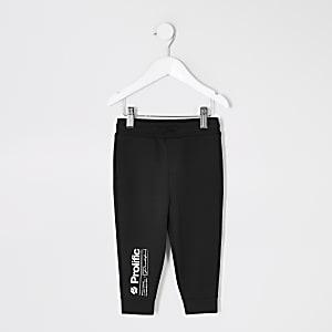 Mini – Prolific– Schwarze Jogginghosen für Jungen