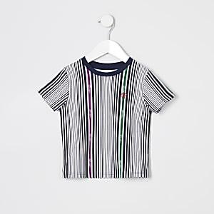 Prolific – T-shirt blanc à rayuresMini garçon