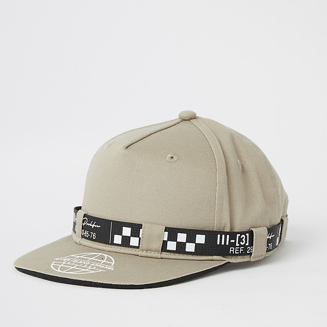 Boys stone Prolific belted cap