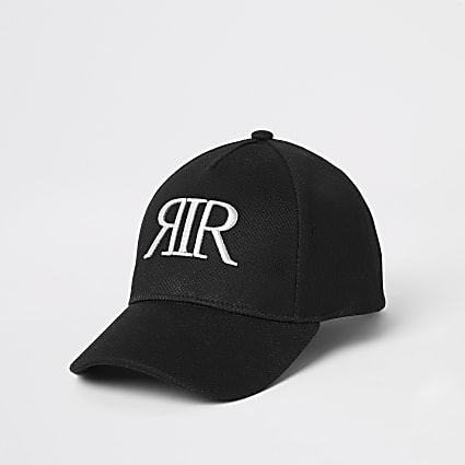 Girls black mesh RIR cap
