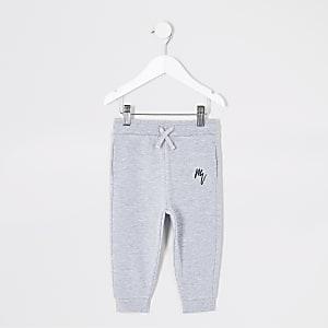 Pantalons de jogging Maison Riviera gris Mini garçon