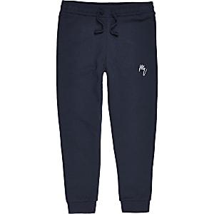 Pantalons de jogging Maison Riviera bleu marine pour garçon