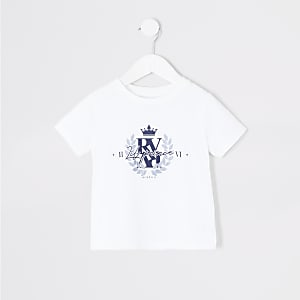 T-shirt blanc « Lil prince » Mini garçon