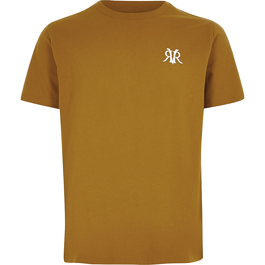 Boys yellow RVR T-shirt
