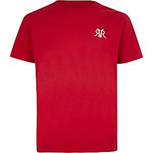 Rood RVR T-shirt voor jongens