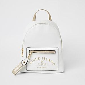 RI-Studio – Weißer Rucksack für Mädchen