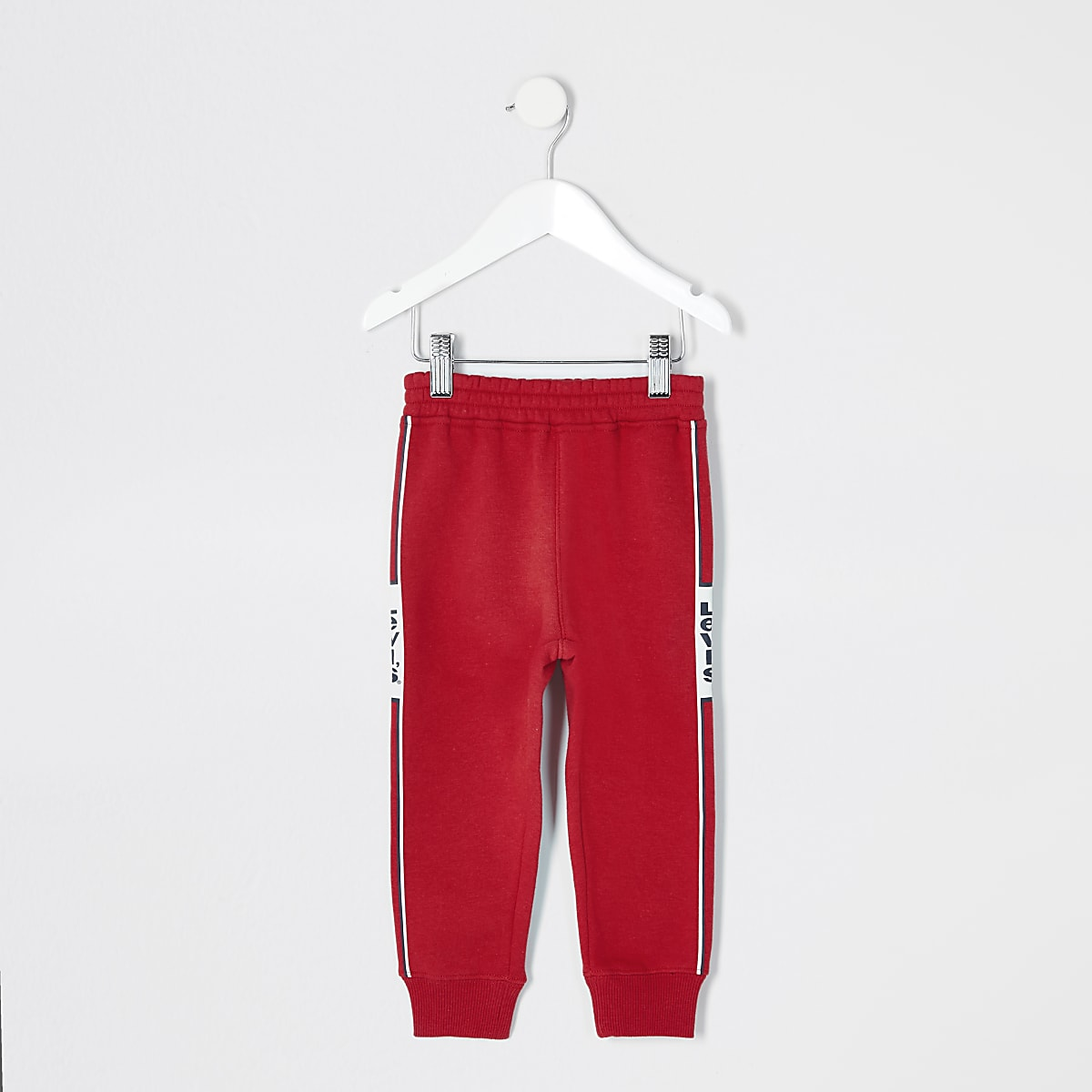 Mini boys Levi's red joggers