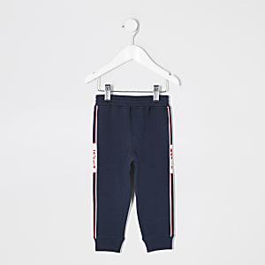 Mini - Levi's - Marineblauwe joggingbroek voor jongens