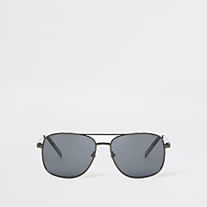 Zwarte navigeerzonnebril voor jongens