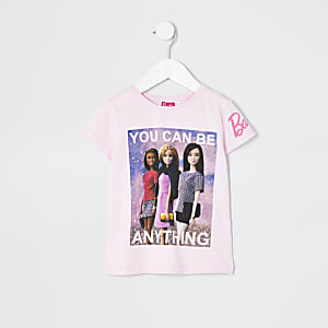 T-shirt Barbie«be anything » Minifille