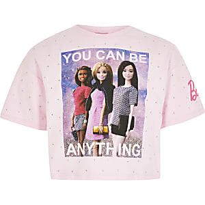 "Barbie-T-Shirt ""You can be anything"" für Mädchen"