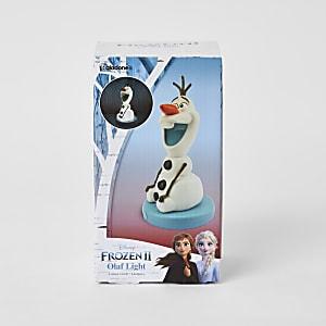 Witte Frozen Olaf-lamp