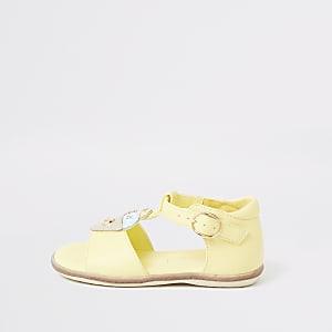 Mini – Gelbe Ice-Cream-Sandale für Mädchen