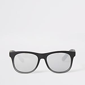 Mini boys black mirrored retro sunglasses