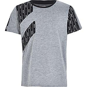 RI Active- Grijs MCMLVXII T-shirt voor jongens