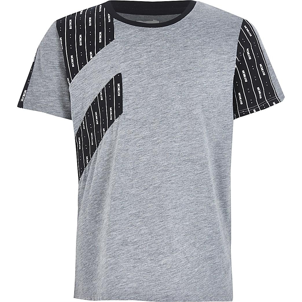 RI Active– T-shirt gris MCMLVXII pour garçon