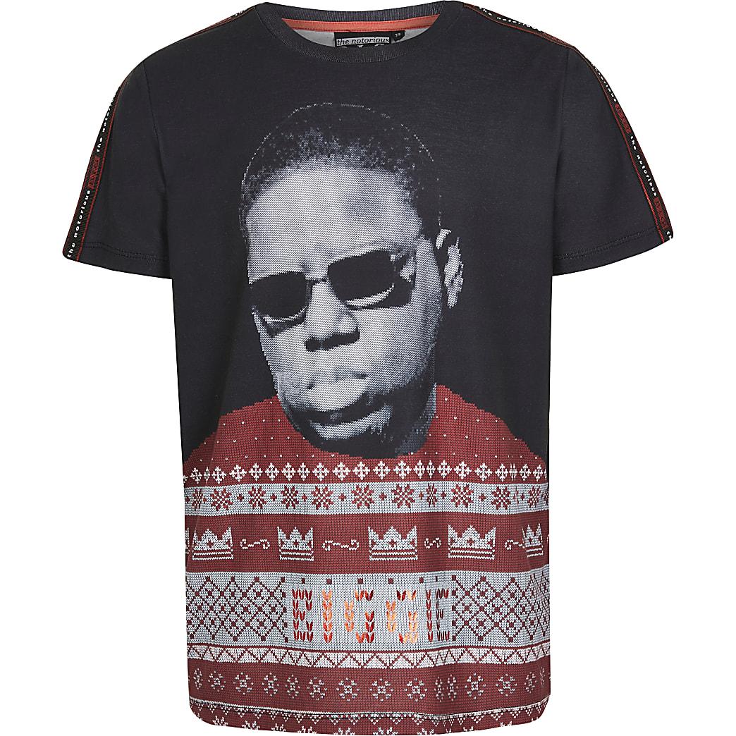 T-shirtimprimé Notorious B.I.G. de Noël pour garçon