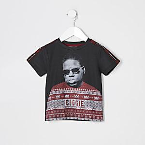 Mini - T-shirt met 'Notorious B.I.G.'-kerstprint voor jongens