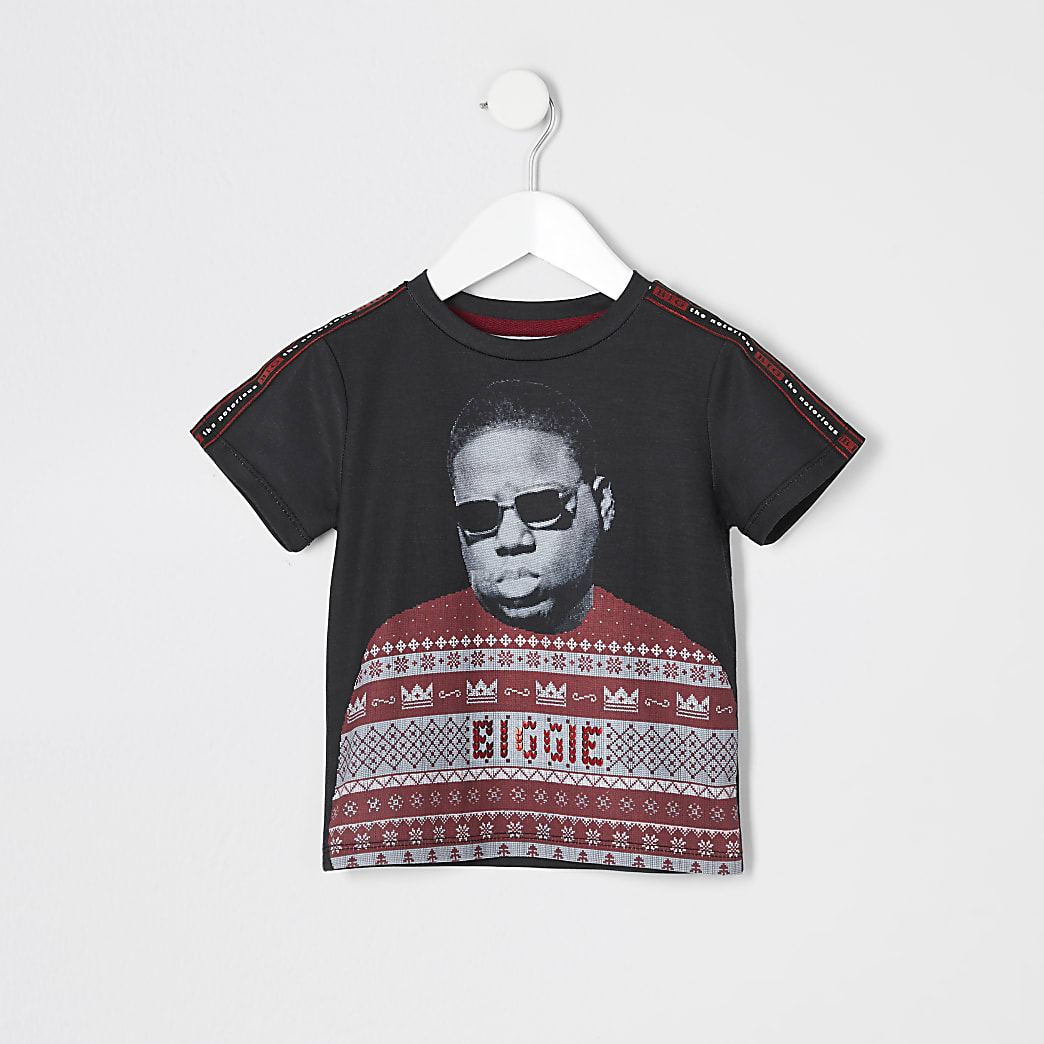 Mini boys Notorious B.I.G Christmas T-shirt