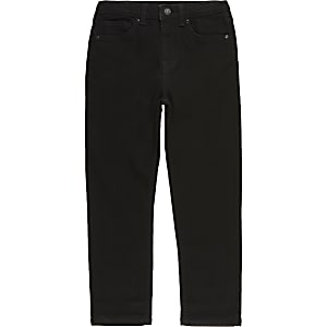 Jake - Zwarte regular fit jeans voor jongens