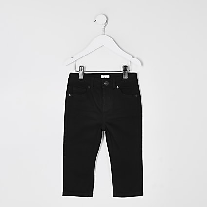 Mini boys black Jake regular fit jeans