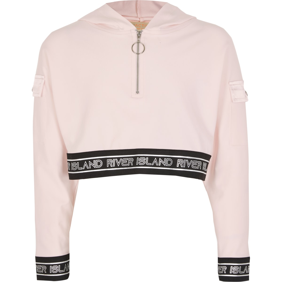 Girls RI Active pink sweatshirt outfit