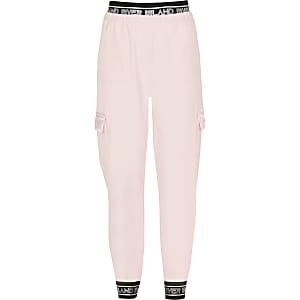 RI Active – Utility-Jogginghose in hellem Pink für Mädchen