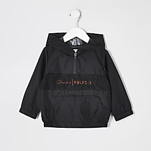 Mini – Prolific – Schwarze Jacke zum Zusammenfalten für Jungen