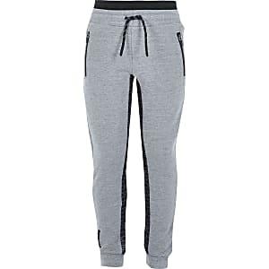 RI Active –Pantalon de jogging gris à empiècementspour garçon