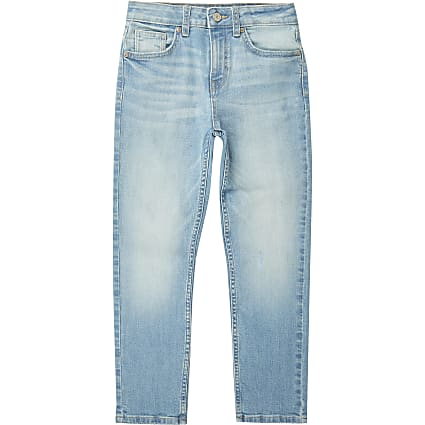 Boys blue Jake regular fit jeans