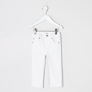 Sid – Jean skinny blanc mini garçon