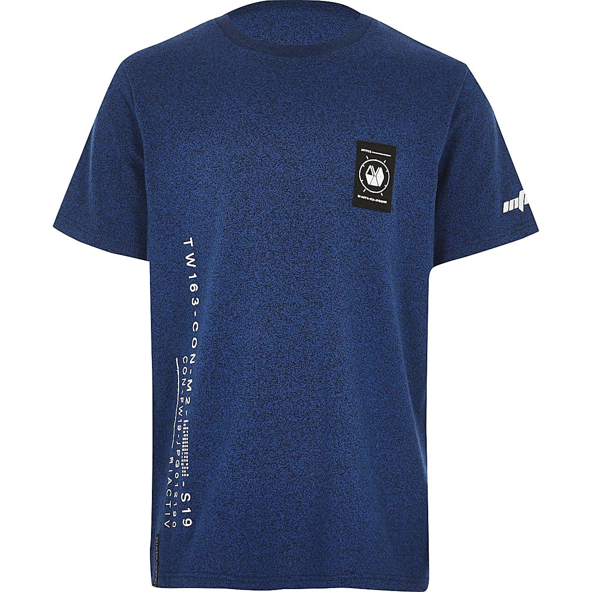 Garçon – RI Active – T-shirt  imprimébleu