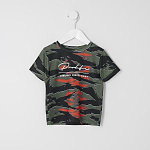 T-shirt «Prolific» camouflage kaki Mini garçon