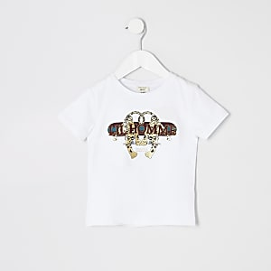 T-shirtà imprimétigre « Lil homme » pour garçon