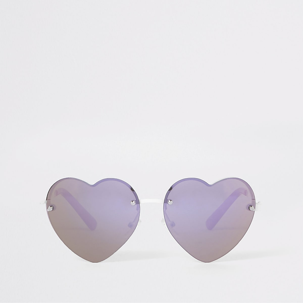 Girls pink heart sunglasses