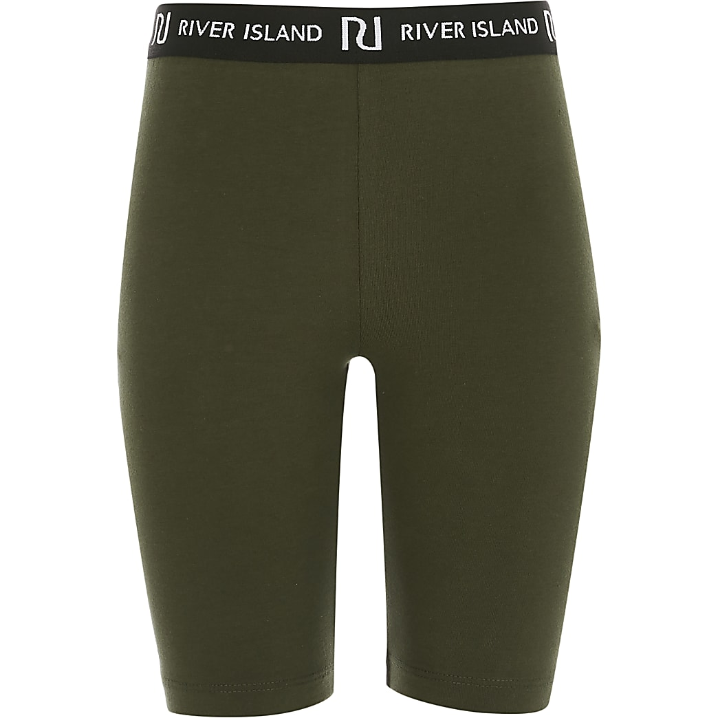 Girl khaki RI cycling shorts