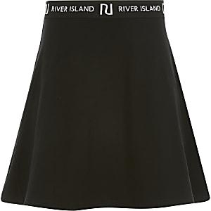 Girls black RI skirt