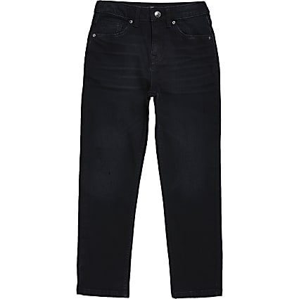 Boys dark blue Jake regular fit jeans