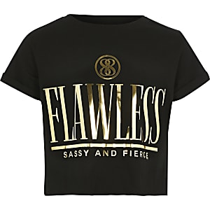 """Bedrucktes T-Shirt """"Flawless"""""""