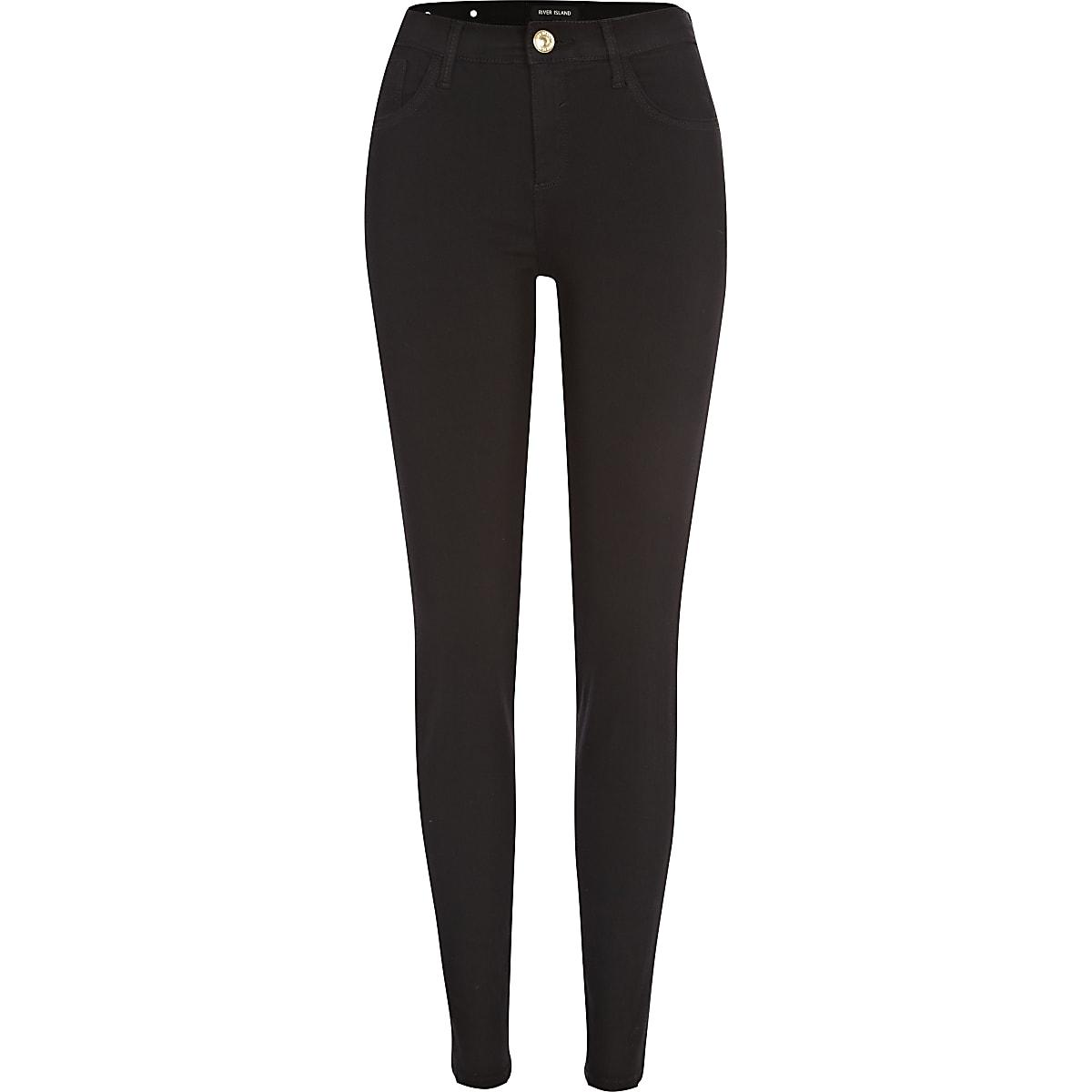 Black Amelie reform superskinny jeans