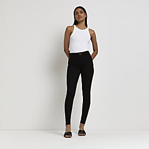 Molly – Jegging noir recyclé