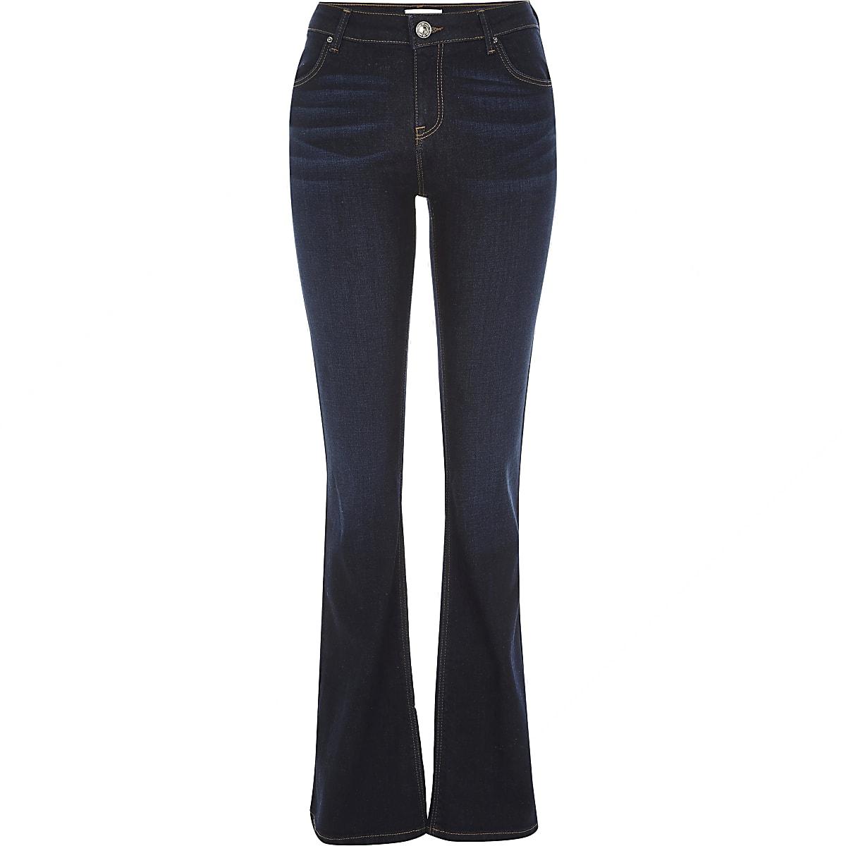 Dark wash Brooke flare jeans