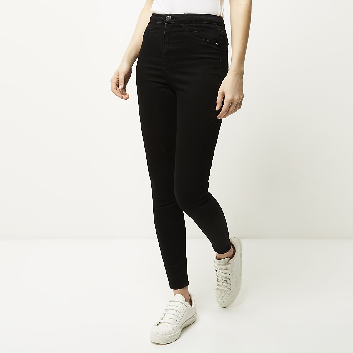 classic styles autumn shoes wholesale dealer Black high waisted going out jeggings