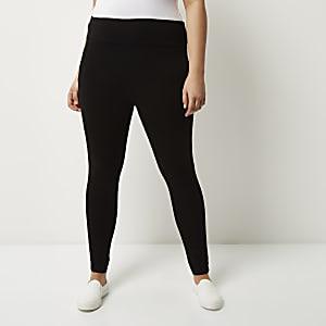 Legging Plus noir taille haute