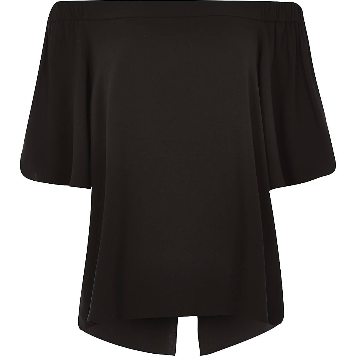 172cb0969fa58d Black bardot top - Bardot   Cold Shoulder Tops - Tops - women