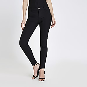 Black Molly skinny fit pants