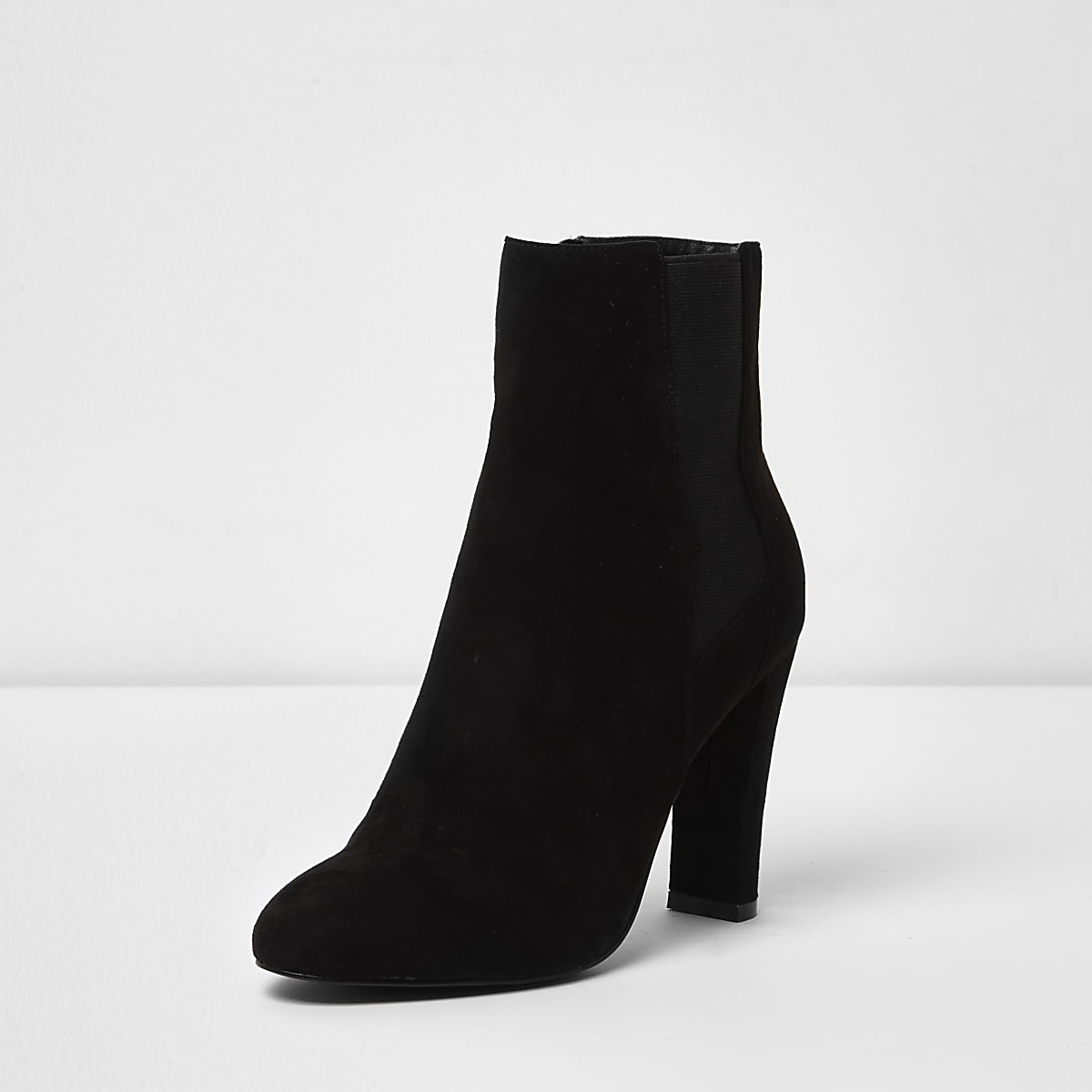 6491f8317694 Black heeled chelsea boots - Boots - Shoes   Boots - women