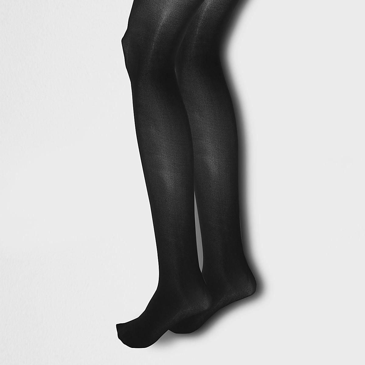 Schwarze Strumpfhose, 40 DEN