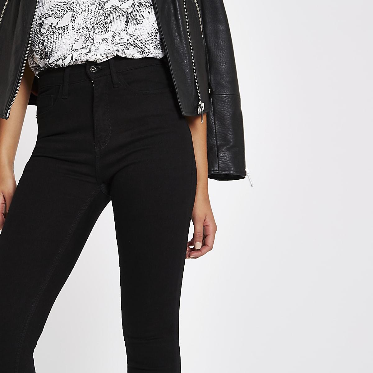 f465721fc6d7 Black high waisted Harper skinny jeans - Skinny Jeans - Jeans - women